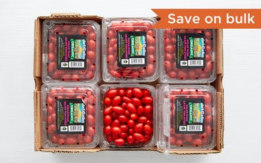 Case of Organic & Fair Trade Sugar Plum Grape Tomatoes (Mexico)
