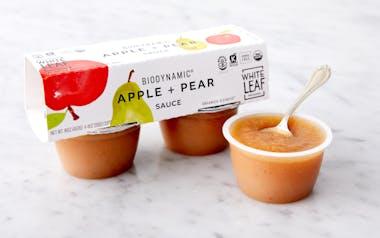 Biodynamic Apple & Pear Sauce