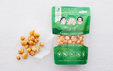 Tangy Chili Lime Popped Lily Seeds