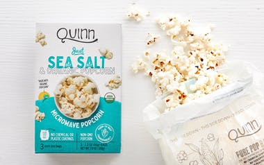 Just Sea Salt Microwave Popcorn