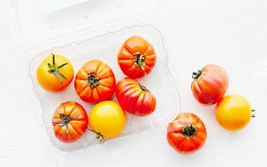 Organic Mixed Baby Heirloom Tomatoes