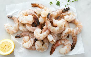 Peeled & Deveined Large Wild Gulf Shrimp (Frozen)