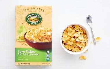 Organic Gluten-Free Fruit Juice Sweetened Corn Flakes