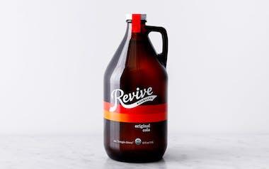 Organic Original Cola Kombucha Growler
