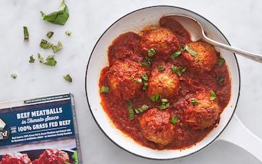 Grass-Fed Beef Meatballs