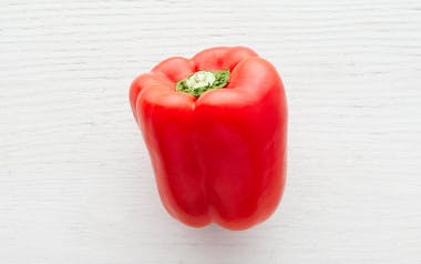 Organic & Fair Trade Large Red Bell Pepper (Mexico)