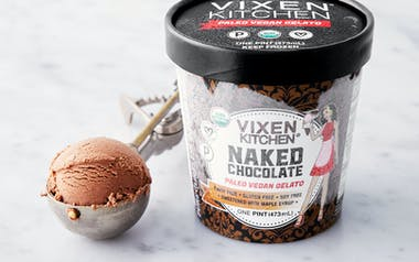 Vegan & Paleo Chocolate Gelato