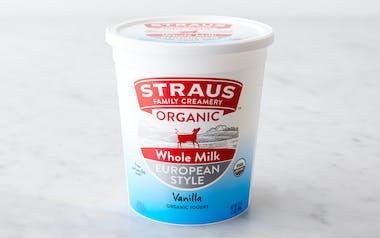 Organic Vanilla Whole Milk Yogurt
