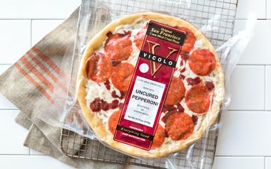 Pepperoni Cornmeal Crust Pizza