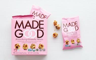 Organic Strawberry Granola Minis