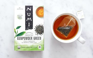 Organic Gunpowder Green Tea Bags