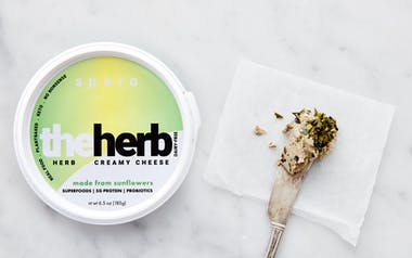 Plant-Based Herb Cheese