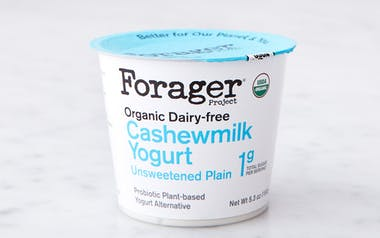Organic Unsweetened Plain Cashew Yogurt