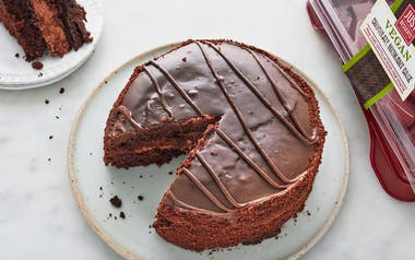 Vegan Midnight Chocolate Cake