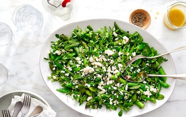 Minted Spring Salad with Asparagus & Peas