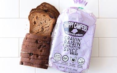 Gluten-Free Organic Cinnamon Raisin Bread