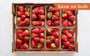 Flat of Organic & Fair Trade Strawberries (Mexico)