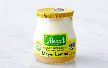 Organic Pasture-Raised Meyer Lemon Yogurt