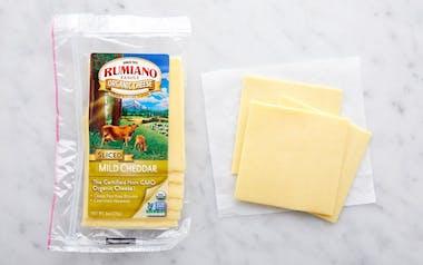 Organic Sliced Mild Cheddar