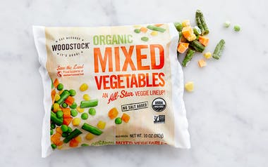 Organic Frozen Mixed Veggies