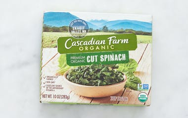 Organic Frozen Cut Spinach