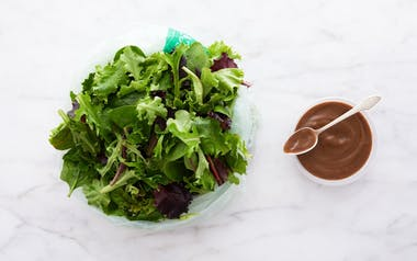 Pre-Washed Salad Greens with Balsamic Vinaigrette