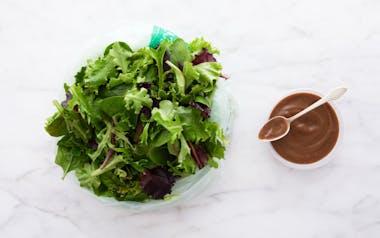 Pre-Washed Salad Greens with Balsamic Vinaigrette