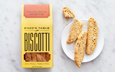 Traditional Almond Biscotti