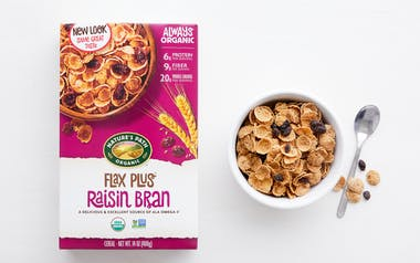 Organic Flax Plus Raisin Bran