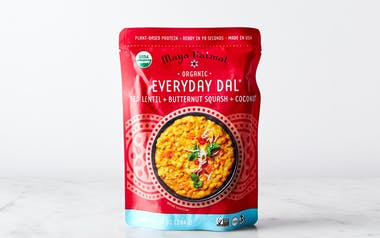 Red Lentils with Butternut Squash & Coconut Dal