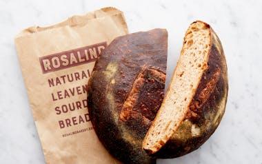 60/40 Whole Wheat Sourdough Loaf