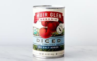 Organic Unsalted Diced Tomatoes