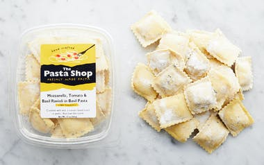 Fresh Mozzarella, Tomato & Basil Ravioli