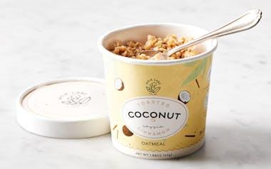 Toasted Coconut & Cassia Cinnamon Oatmeal Cup
