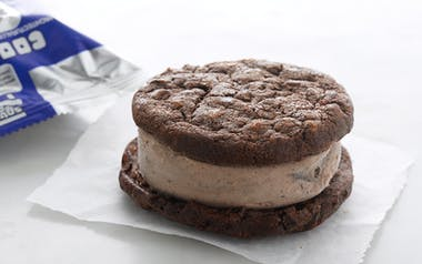 Double Chocolate & Cookies n' Cream Ice Cream Sandwich