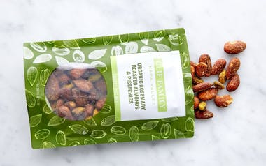 Organic Rosemary Roasted Almonds & Pistachios