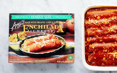 Family Sized Cheese Enchiladas