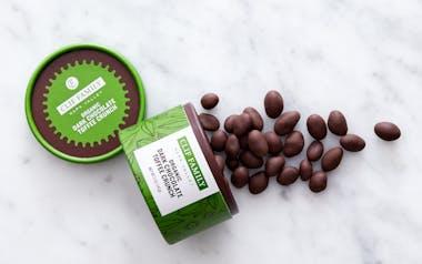 Organic Dark Chocolate Toffee Crunch