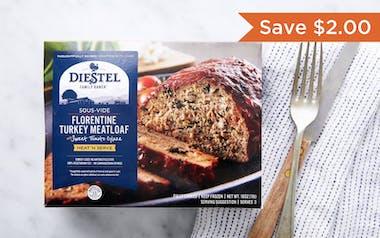 Sousvide Florentine Turkey Meatloaf