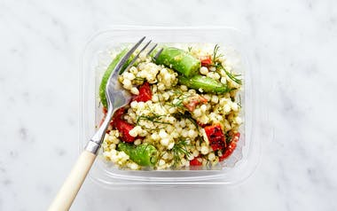 Couscous Salad with Preserved Lemon and Basil