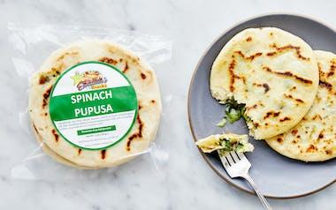 Spinach & Cheese Pupusas
