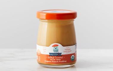 Organic Salted Caramel Pot de Crème