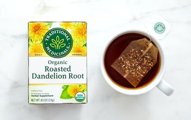 Organic Roasted Dandelion Root Tea Bags