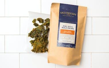 Sweet Potato & Beef Bone Broth Kale Chips