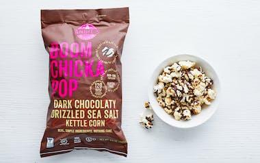 Dark Chocolate Drizzled Sea Salt Kettle Corn