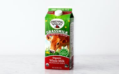 Organic Grass-Fed Whole Milk