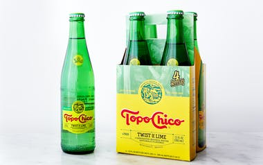 Sparkling Lime Mineral Water