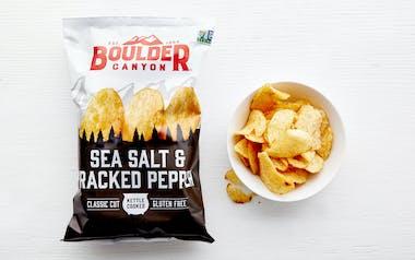 Sea Salt & Pepper Kettle Potato Chips