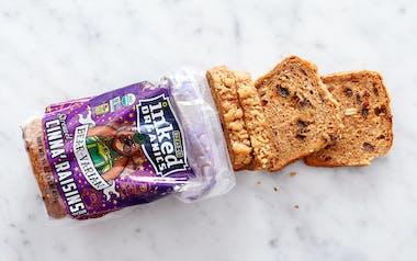 Organic Cinnamon Raisin Bread with Streusel