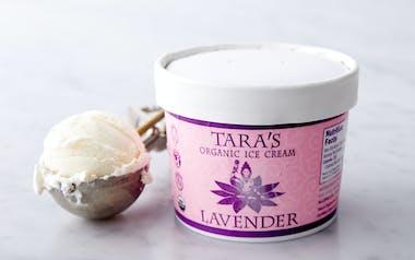 Organic Lavender Ice Cream